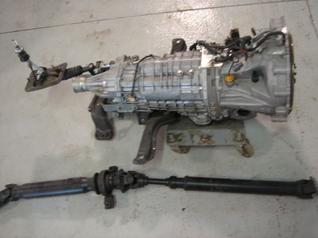 2011 Subaru STi 6 Speed Transmission Image