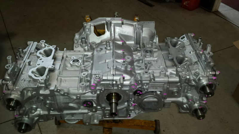 2006-2014 Wrx EJ255 Remanufactured long blocks Image